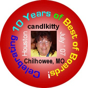10 Year Anniversary Button
